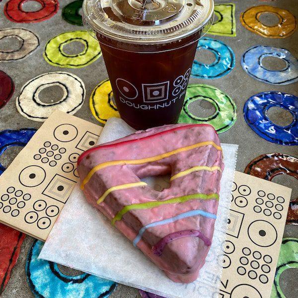 doughnut plant triangle donut pride
