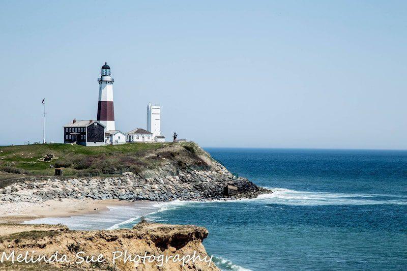 montauk lighthouse beach beautiful new york towns