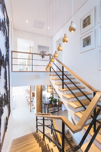 modern staircase luxury home