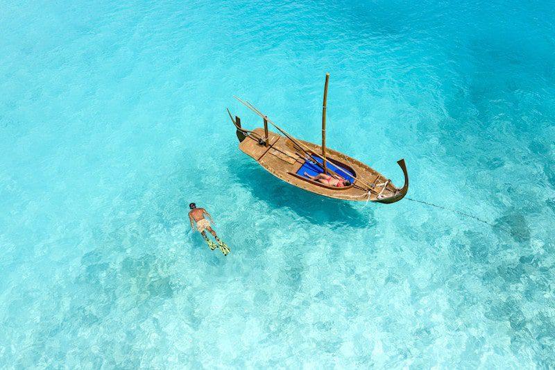 Sheraton Maldives Full Moon Resort & Spa snorkeling