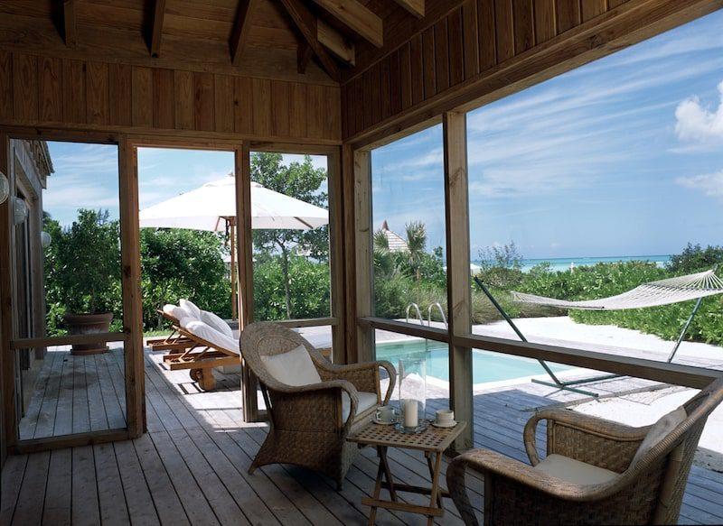one bedroom villa como parrot cay
