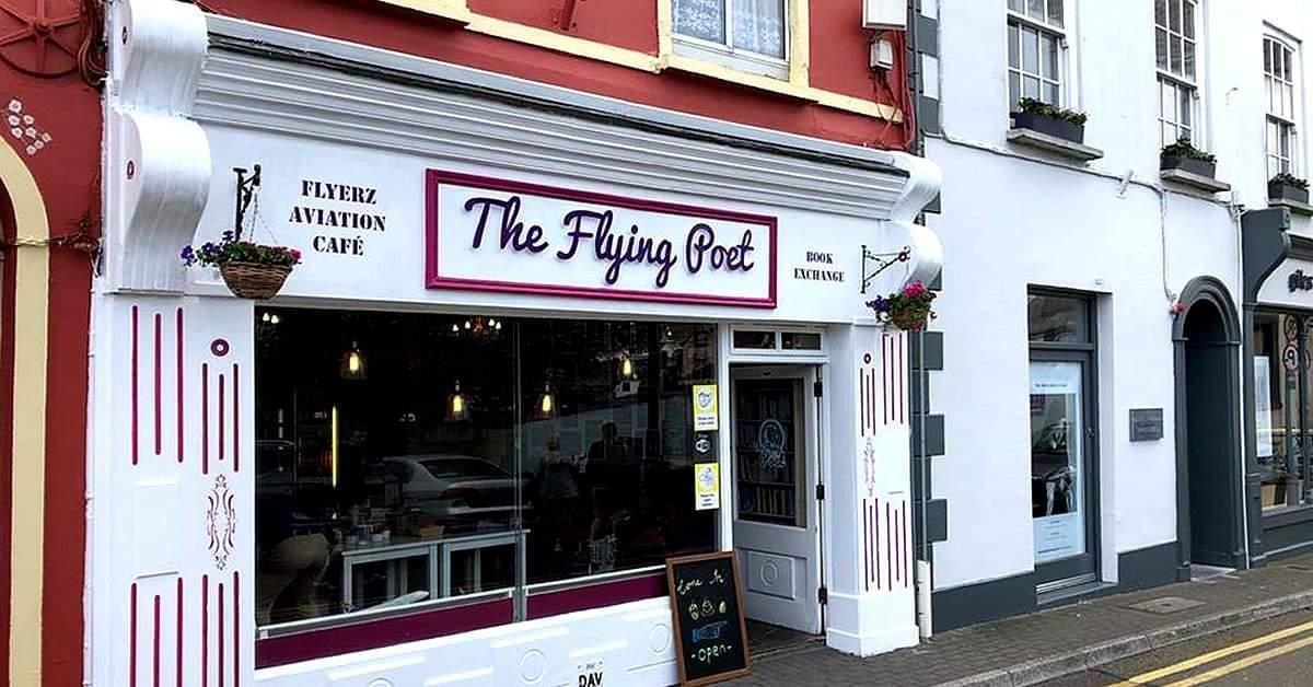 The flying poet Kinsale