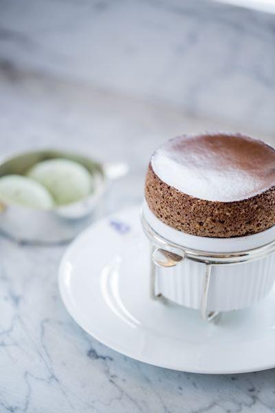 benoit chocolate souffle nyc dessert