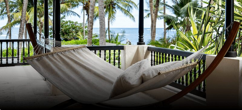 beachfront hammock the reserve