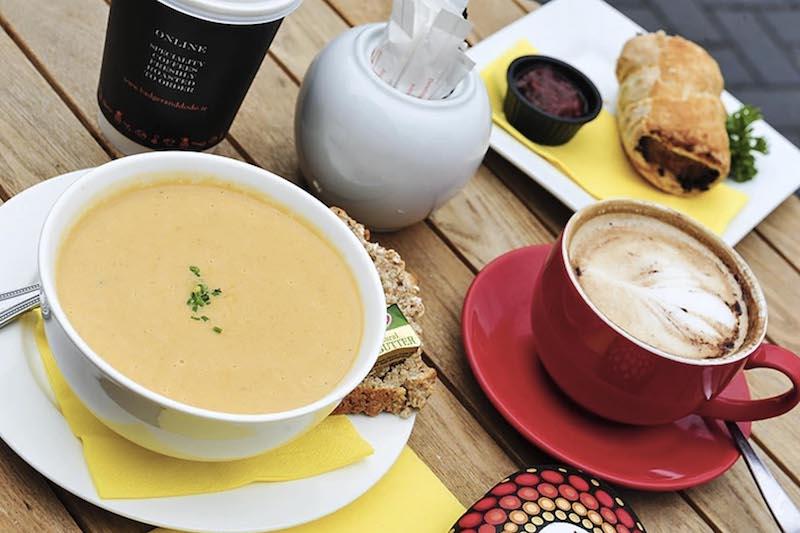 cosy cafe soup kinsale ireland where to eat
