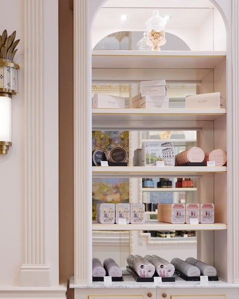 angelina paris usa sixth avenue retail shelves