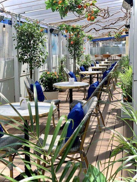 benoit outdoor terrace dining nyc midtown