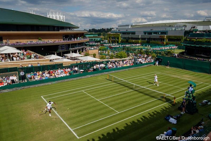 wimbledon tennis championship court