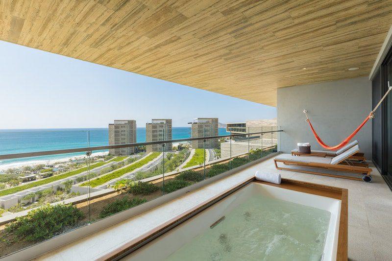 balcony ocean front suite resort