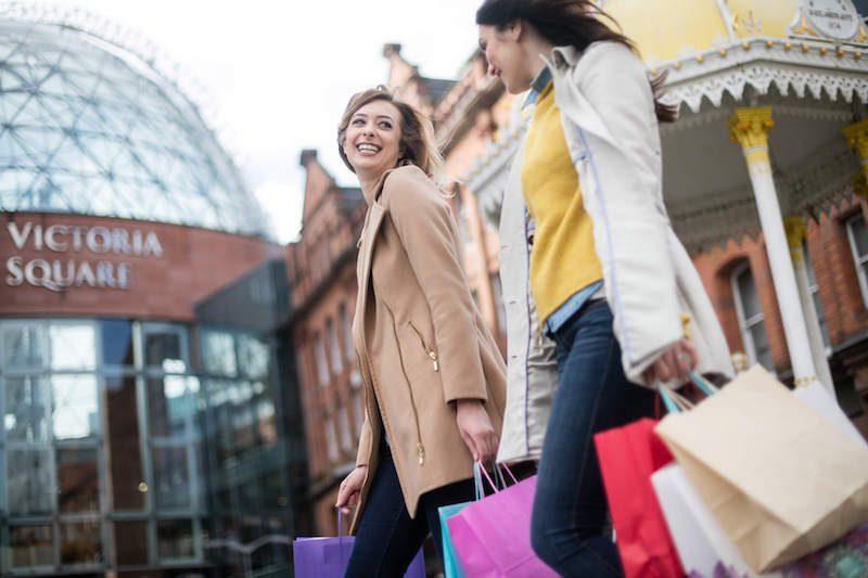 belfast shopping Victoria square