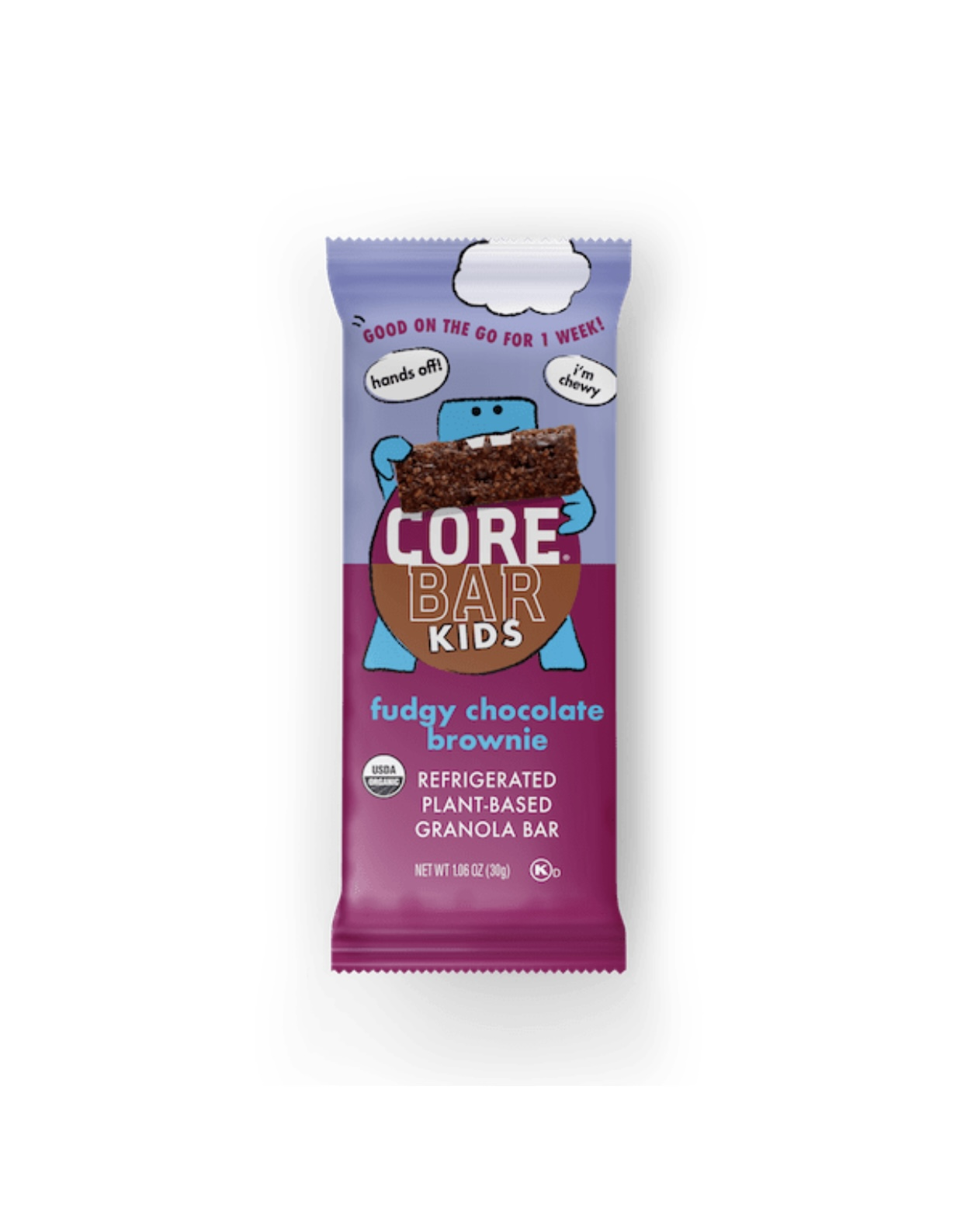 core bar kids specialty food fudge chocolate brownie