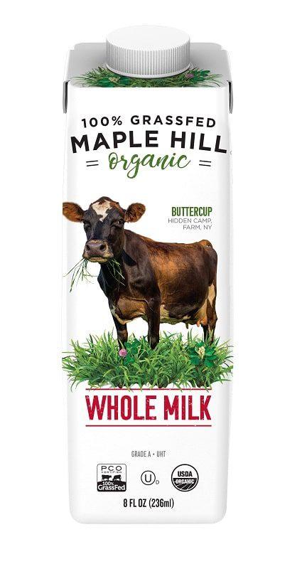 maple hill organic grass fed milk