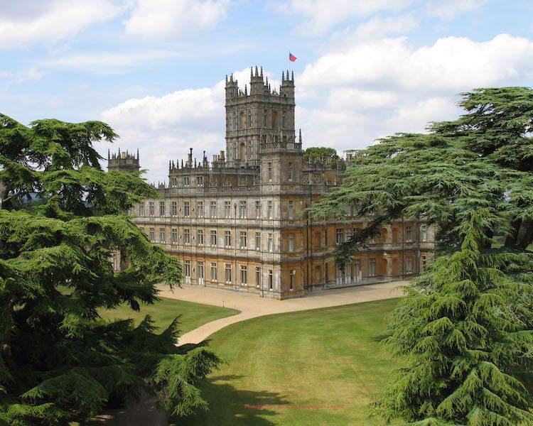 highclere castle uk beautiful manor home