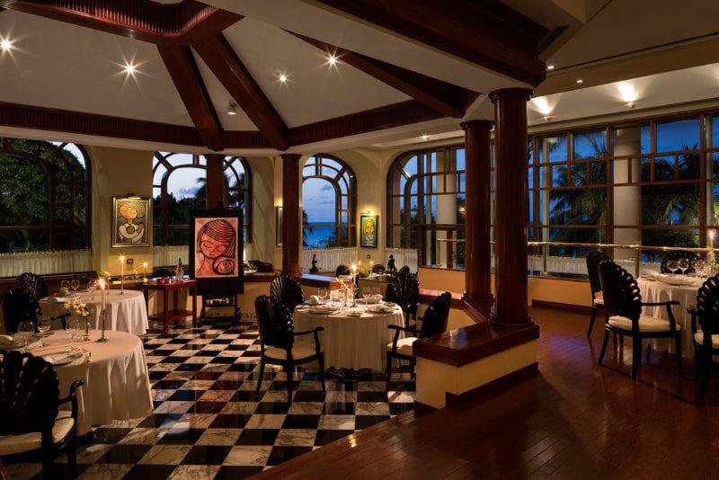 le basilic restaurant grand fiesta americana interior