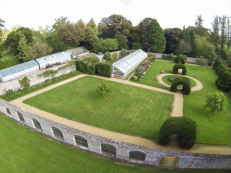 highclere castle garden greenhouse
