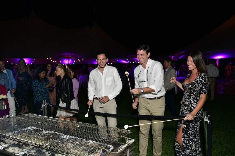 guests attend fork it alzheimers event