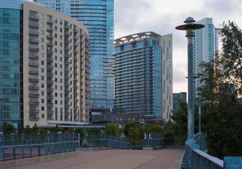 city skyline blue hue tone cities to move to