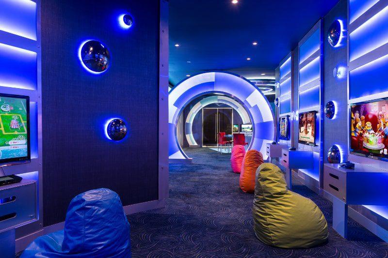 KidZ club gaming room