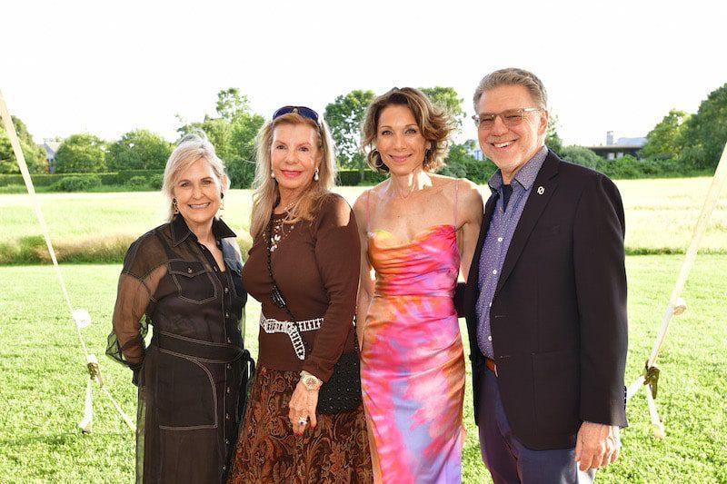 Nicole Sexton Princess Yasmin Aga Khan Daryl Simon and Harry Johns