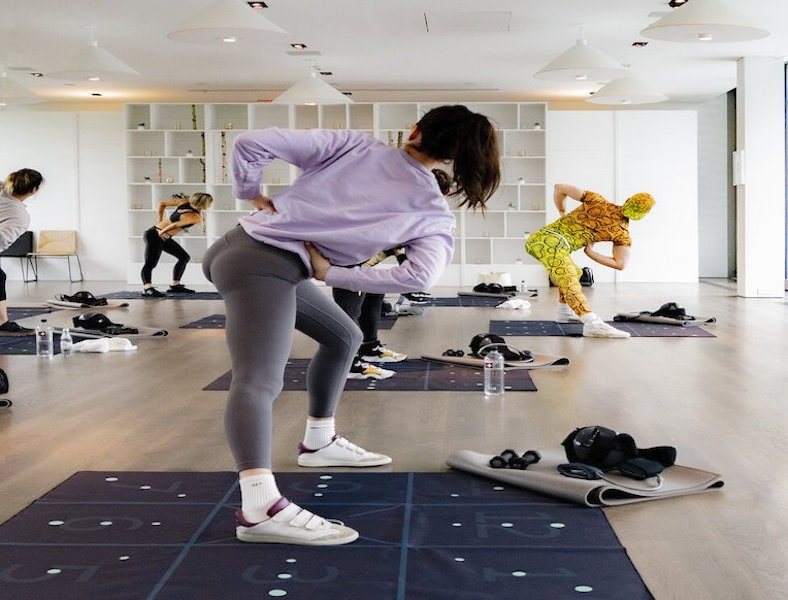 pvolve fitness class stretch tone hamptons