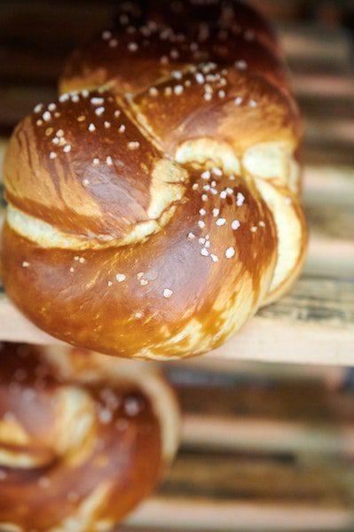 homemade pretzels baking soft fluffy