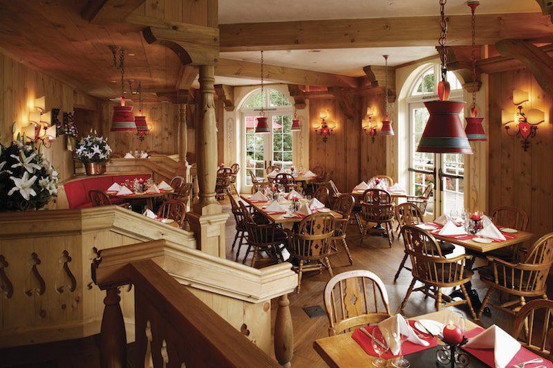 restaurant at sonnenalp hotel in vail
