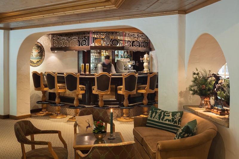 vail village restaurant sonnenalp hotel colorado interior