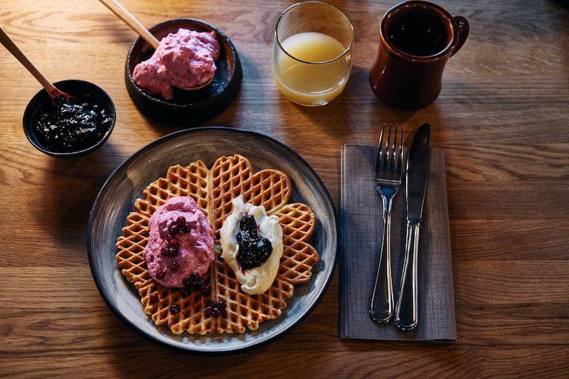 breakfast in norway journey explore waffles rustic
