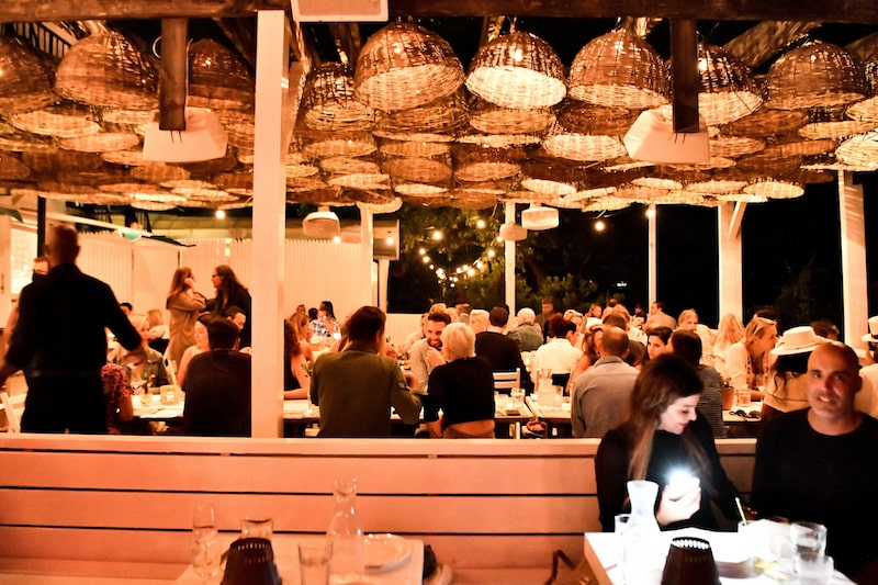 party event nighttime at the surf lodge montauk