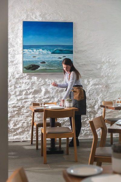 michael caines restaurant waitstaff uk