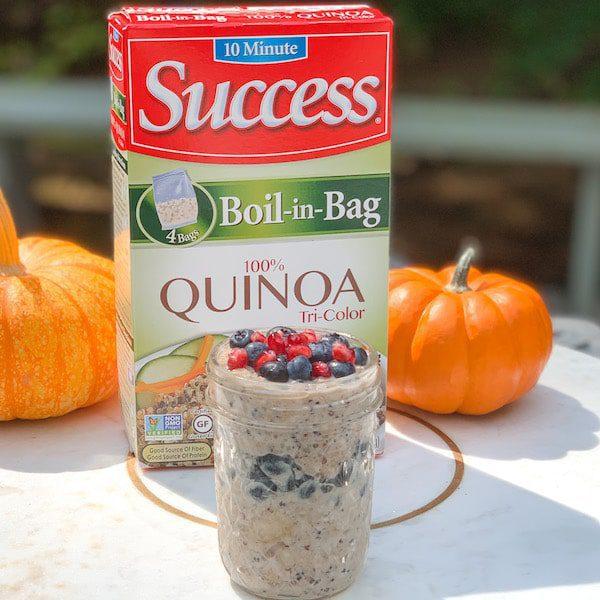 success rice quinoa overnight oats recipe