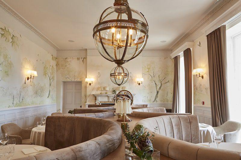 lympstone manor interior restaurant