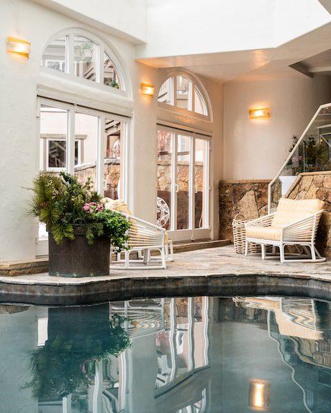 sonnenalp vail indoor spa pool colorado
