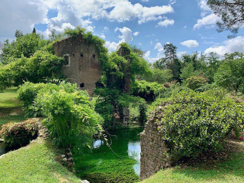 garden of ninfa italy family visit