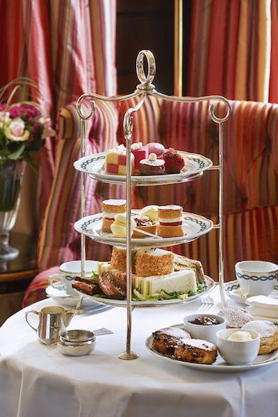 afternoon tea at the milestone london