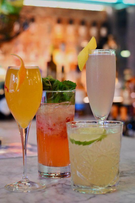 cocktails at pekarna nyc