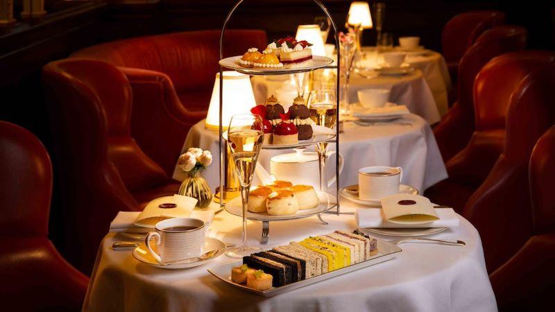 Hotel Cafe Royal afternoon tea london