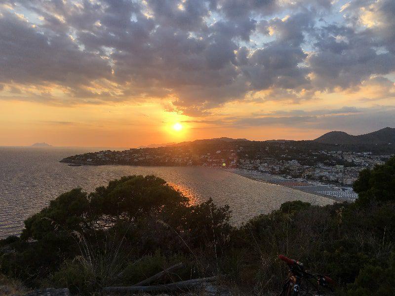 gaeta itay breathtaking sunset sky view