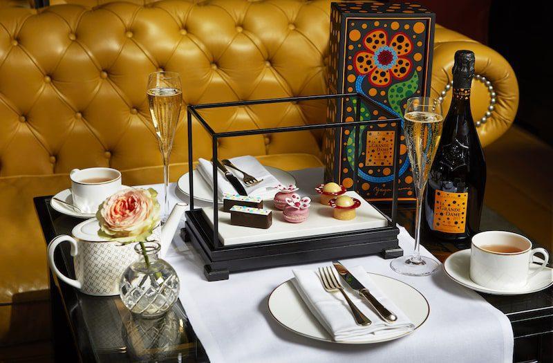 Rosewood London Mirror Room Kusama Art Afternoon Tea Afternoon
