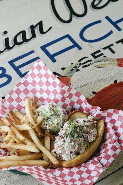 bostwick's chowder house lobster roll